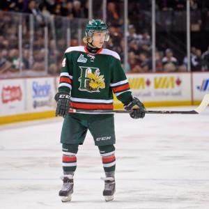 Nikolaj Ehlers looks to make an immediate impact in the NHL. (Photo: David Chan)