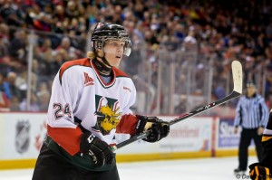 Nikolaj Ehlers is Winnipeg's top prospect [photo: David Chan]