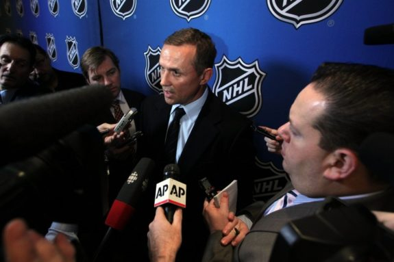Steve Yzerman -Tampa Bay Lightning GM