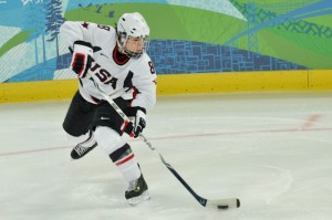 Women's Hockey, USA vs Russia, 2010 Vancouver Winter Olympics, Feb. 16, 2010