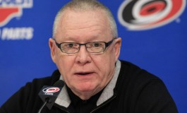 Hurricanes Slowly Pulling Rutherford Roots