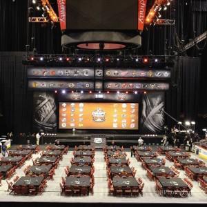 2014 NHL Entry Draft Floor [photo: Amy Irvin]