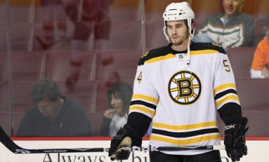 Boston Gambled and Lost on Adam McQuaid