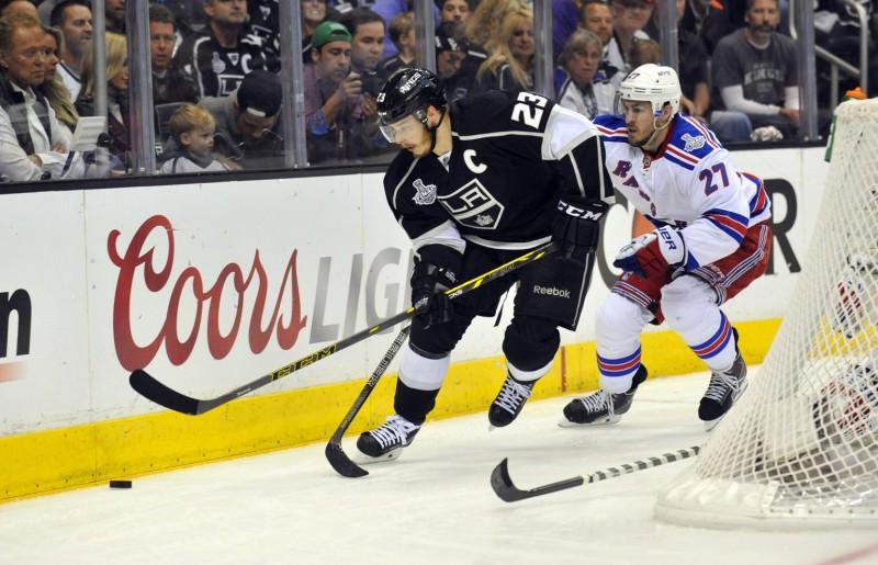 Dustin Brown, Los Angeles Kings, NHL