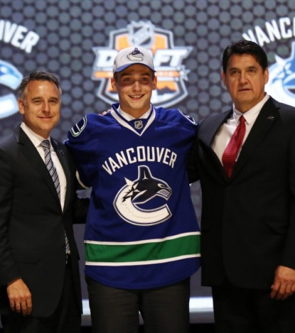 General manager Jim Benning would be wise to lend Virtanen to Team Canada for the World Juniors next month. (Bill Streicher-USA TODAY Sports)