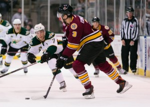 Edmundson posted 12 points in 30 games for Chicago last season (Credit: Texas Stars Hockey)