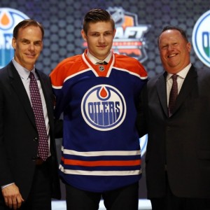 (Bill Streicher-USA TODAY Sports) Team P, or Team McDavid as it'll surely be known, also features another Oilers prospect in Leon Draisaitl. That dynamic duo should get this team into the playoffs sooner than later after falling on hard times and twice changing owners.