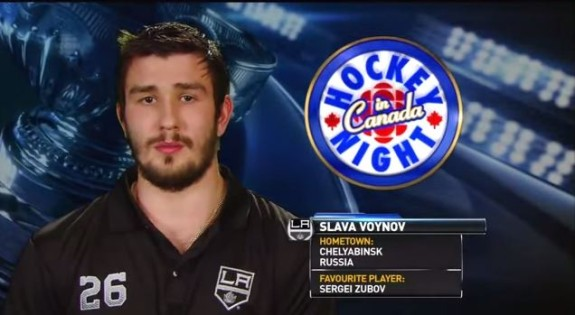 Why does Slava always look like he's been Taken?
