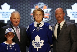 Leafs have bright prospects like Nylander in the system, so the time for a rebuild is now. (Bill Streicher-USA TODAY Sports)