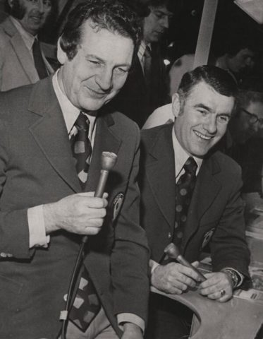 Dick Irvin Jr., Danny Gallivan, Hockey Broadcasting