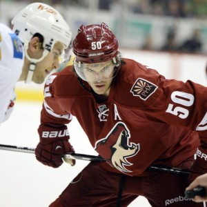 Ex-Arizona Coyotes forward Antoine Vermette