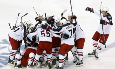 Blue Jackets Clinch Third Ever Playoff Berth
