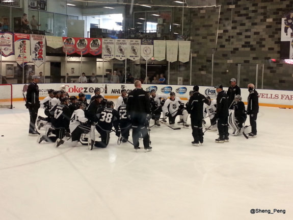LA Kings, 2014 Development Camp