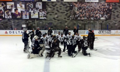 LA Kings 2014 Development Camp: Day 1