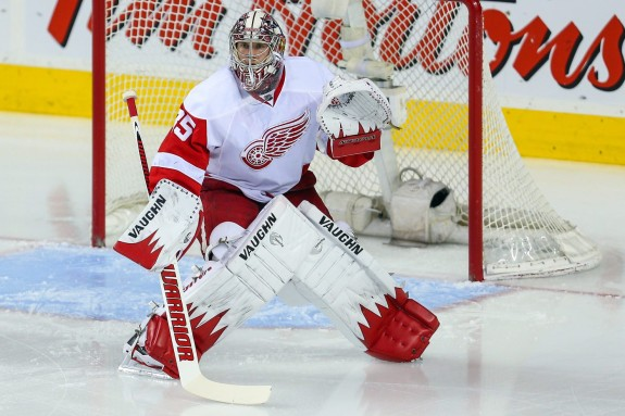 Jimmy Howard (Sergei Belski-USA TODAY Sports)