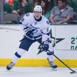 Ondrej Palat is set to become an RFA in July. (Jerome Miron-USA TODAY Sports)