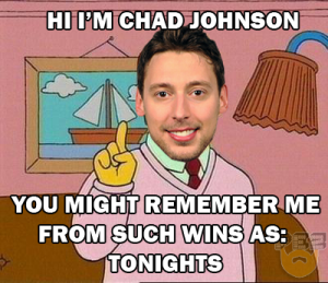 Hi, I'm Chad Johnson (Pez/Days Of Y'Orr)