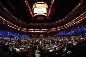 The 2014 City of Brotherly Love NHL Draft Floor, Philadelphia (Bill Streicher-USA TODAY Sports)