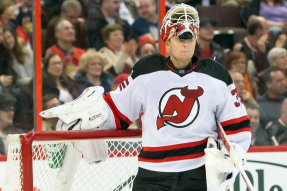 Historic Opening for New Jersey Devils Cory Schneider