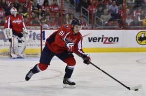 Dmitry Orlov will miss the start of the 2014-15 season(Tommy Gilligan-USA TODAY Sports)