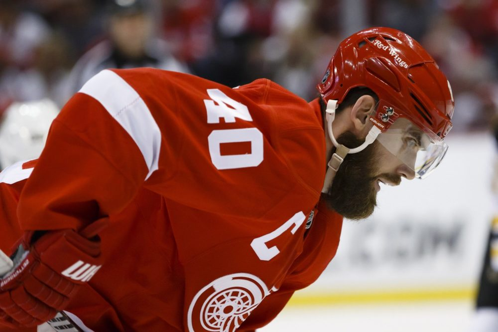 Henrik Zetterberg playoff beard