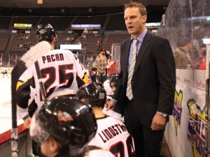 Jarrod Skalde during his time as coach of the ECHL's Cincinnati Cyclones.(Cincinnati Cyclones/Norfolk Admirals)