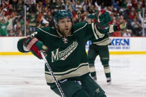 Jason Zucker has emerged as a crucial member of the Minnesota Wild so far this season, showing he's ready to stay in the NHL. (Brace Hemmelgarn-USA TODAY Sports)