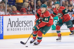 Mikael Granlund must step up and become a solid top 6 center for Minnesota. (Brad Rempel-USA TODAY Sports)