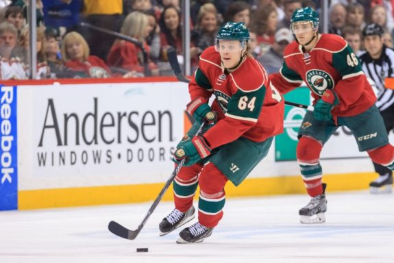 Mikael Granlund of the Minnesota Wild