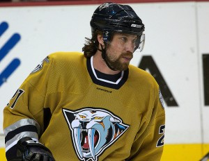 One-time-Nashville Predator Peter Forsberg