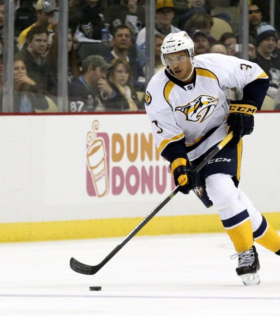 (Charles LeClaire-USA TODAY Sports) There has been no indication that the Nashville Predators are shopping Seth Jones, but they might be willing to listen given their depth on defence.