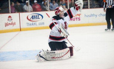Albany And Albany Devils United In Red
