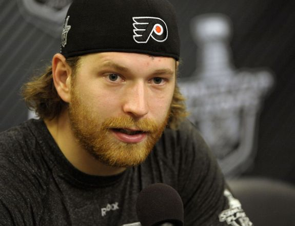 Over half of Claude Giroux's point totals (45 of 86) were scored at the Wells Fargo Center.