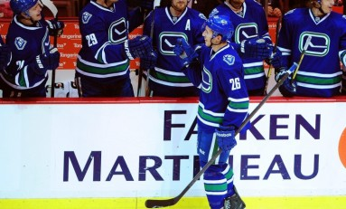Canucks' Jensen, Corrado No Longer Young Stars