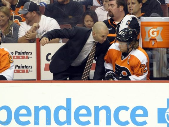 Despite playing only one season in Philadelphia, Flyers assistant coach Ian Laperriere continues to grow in popularity.
