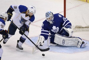 Bernier has a 2.76 GAA and .914 SP this year with the Buds. (Tom Szczerbowski-USA TODAY Sports)