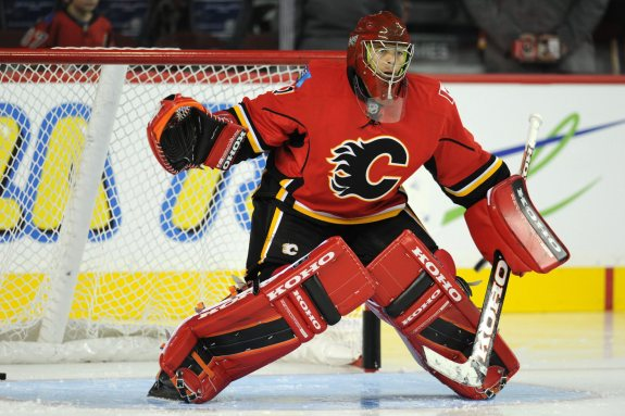 (Candice Ward-USA TODAY Sports) Jonas Hiller has returned to form for the Calgary Flames of late, resuming his role as their starter and winning 4 of his last 6 appearances. Calgary will likely ride him from here on out for better or worse.