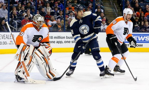 With recent additions, including Nathan Horton (above), the Flyers are growing to hate the Blue Jackets.