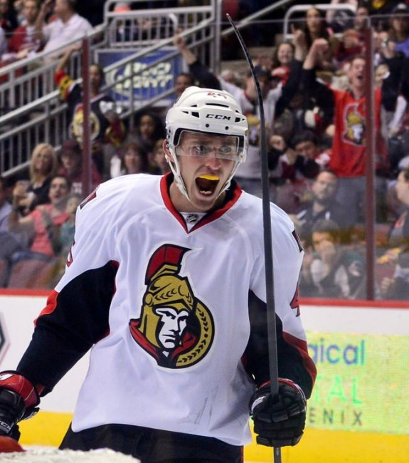 (Matt Kartozian-USA TODAY Sports) Consider Patrick Wiercioch of the Ottawa Senators as a sleeper pick this season. He made big strides last season and finished off on the power play alongside Erik Karlsson in the playoffs. He'll be 25 when the season starts and his career year actually came during the 2012-13 lockout-shortened campaign when Wiercioch produced 19 points in 42 games. You can basically double that for an 82-game season, and I could see him nearing 40 points this season.