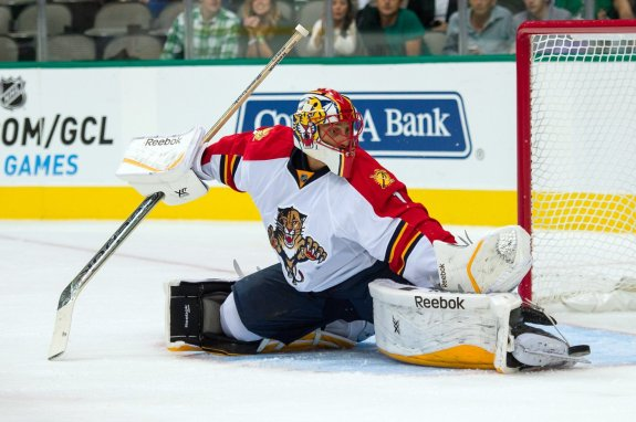 Can Roberto Luongo miraculously carry the Florida Panthers to the postseason? (Jerome Miron-USA TODAY Sports)