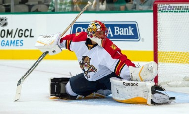 Luongo's Injury Impacts Panthers Profoundly