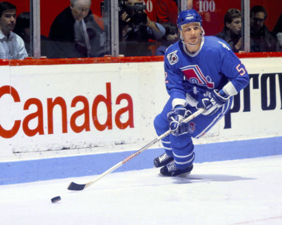 Many of the 1996 Stanley Cup champion Avalanche, including Adam Foote, began their NHL careers in Quebec