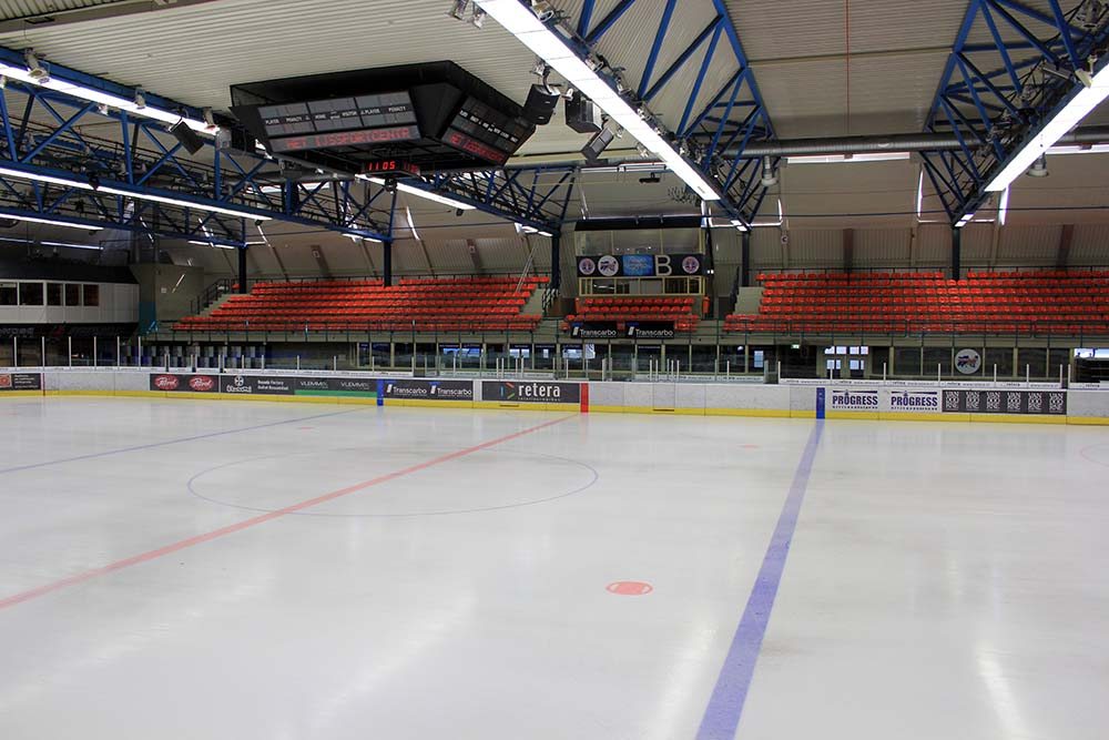 Here's an inside look at the IJssportcentrum in Eindhoven