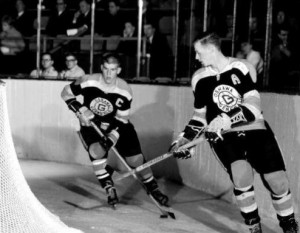 Bobby Orr, Wayne Cashman, Boston Bruins
