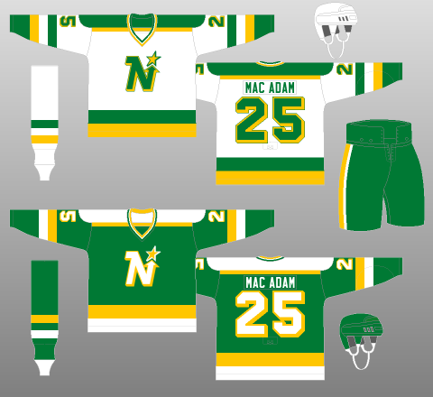 Green to Black  North Stars Graphic History 8c13137511