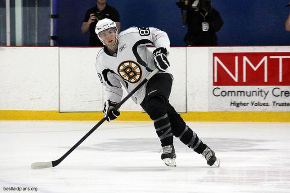 Boston Bruins Statistics Seth Griffith