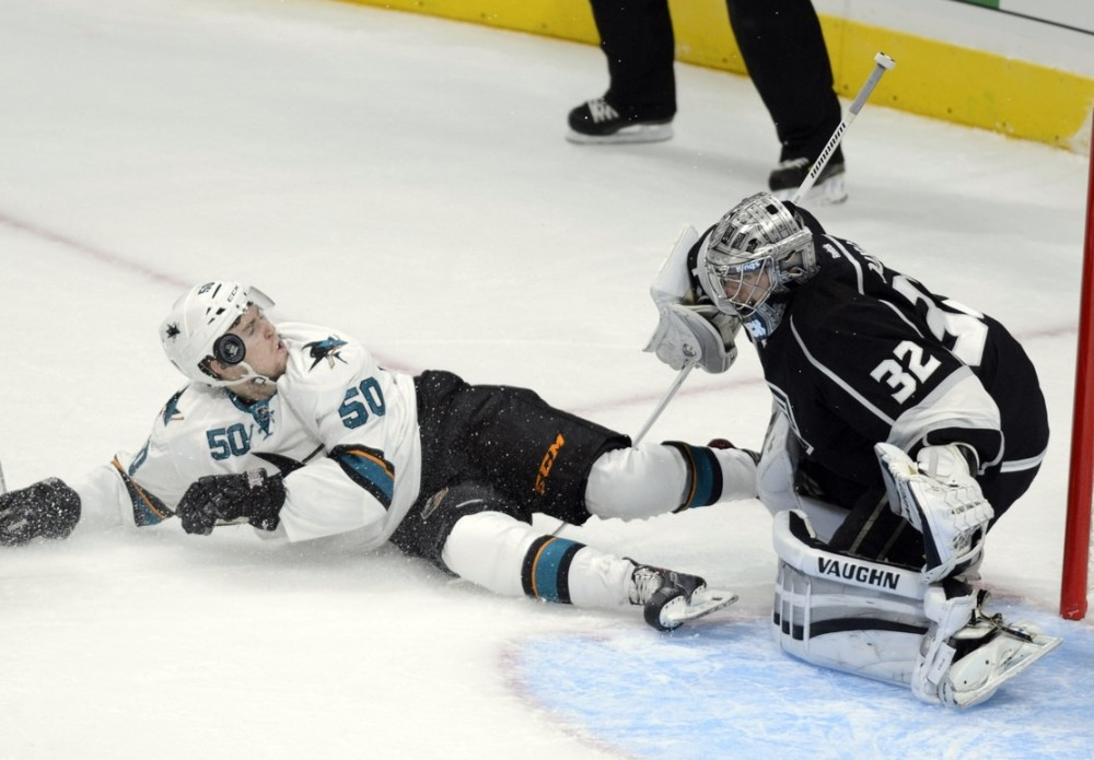 sharks top prospects