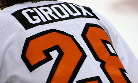 Flyers' Giroux Hits 800-Point Milestone
