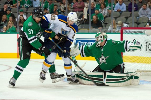 Dmitrij Jaskin will be a pivotal piece of the Blues' offense this season (Jerome Miron-USA TODAY Sports)