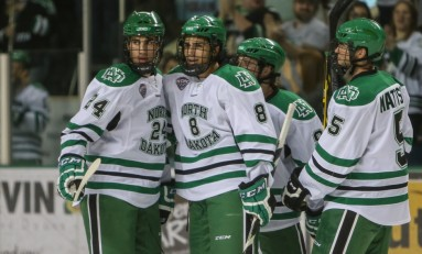 UND Hockey: Nick Schmaltz Makes His UND Debut